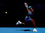 Serena Williams (USA) in action against Svetlana Kuznetsova (RUS)  on day 10 of the Australian Open Tennis , 28-1-09
