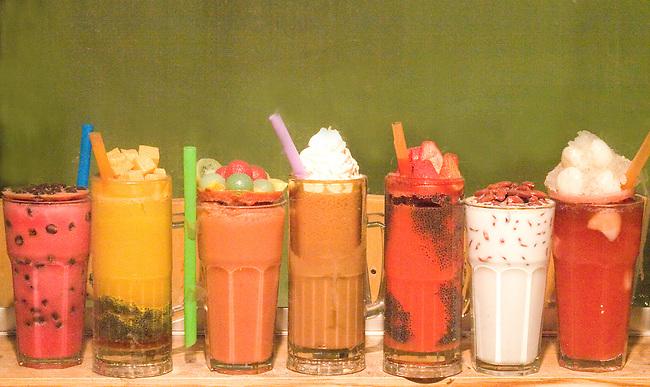 Dessert Beverages, Chinatown, Chicago, Illinois