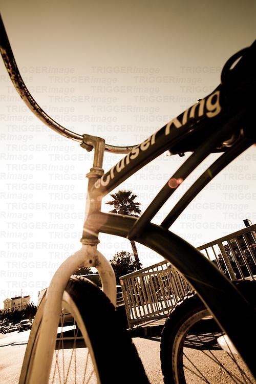 The place to cruise on a bike, Santa Cruz, USA.