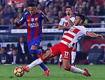 29.10.2016 Barcelona. la Liga day 10. Picture show Neymar in action during game between FC Barcelona against Granada CF at camp nou