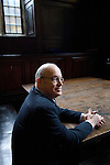 Ian Sinclair in the Convocation House at the Bodleian Library during the Sunday Times Oxford Literary Festival, UK, 16 - 24 March 2013.<br />