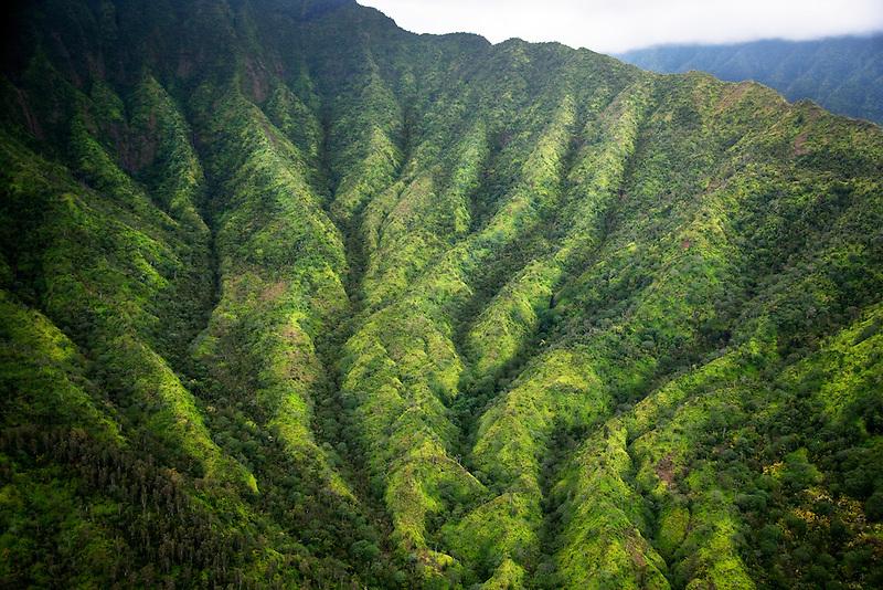 Interior island hills. Kauai, Hawaii.