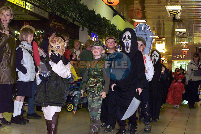 Children that took part in the Fancy Dress Parade in the Drogheda Town Centre.Pic Fran Caffrey Newsfile