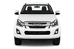 Car photography straight front view of a 2019 Isuzu D-Max LS 2 Door Pick-up Front View