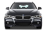 Straight front view of a 2013 BMW 330d Touring Wagon