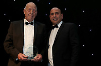 Ken Goodridge receives his one team one dream award during the Essex CCC 2017 Awards Evening at The Cloudfm County Ground on 5th October 2017