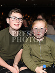 Ciaran Hayden and Keeva Donnelly at the Royal Meath Accordion Orchestra Concert in The Barbican Centre. Photo:Colin Bell/pressphotos.ie
