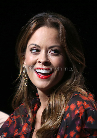 "Universal City, CA - DECEMBER 09: Brooke Burke-Charvet, At Q&A For NBC's "" The New Celebrity Apprentice"" At NBC Universal Lot, California on December 09, 2016. Credit: Faye Sadou/MediaPunch"