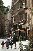 Europe/France/Rhône-Alpes/69/Rhone/Lyon: Vieux Lyon rue Saint Jean