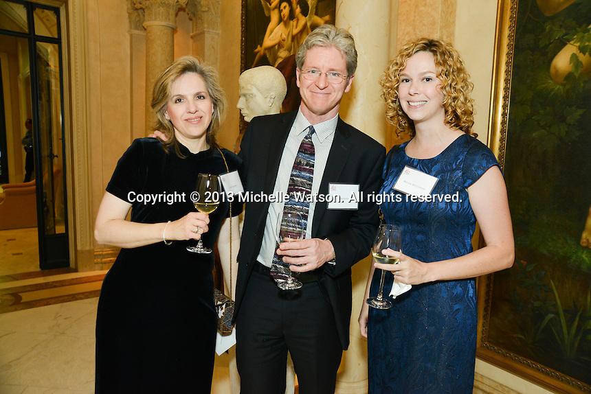 Houston Symphony Reception for Hans & Rita Graf at Chateau Carnarvon