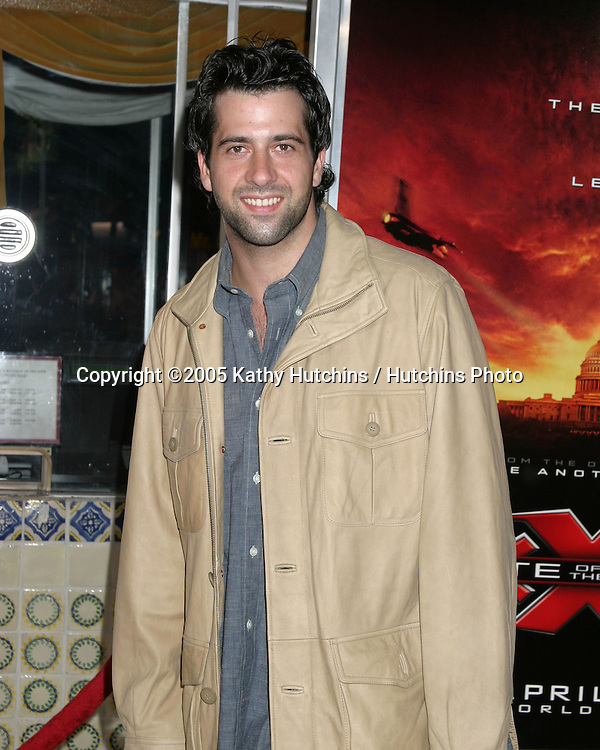 """.Premiere of """"XXX:  State of the Union"""".Westwood, CA.April 25, 2005.@2005 Kathy Hutchins / Hutchins Photo.Troy Garity.Premiere of """"XXX:  State of the Union"""".Westwood, CA.April 25, 2005.@2005 Kathy Hutchins / Hutchins Photo."""