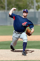 John Meloan -  Cleveland Indians - 2009 spring training.Photo by:  Bill Mitchell/Four Seam Images