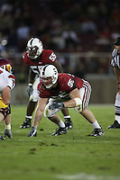 4 November 2006: Chris Horn during Stanford's 42-0 loss to USC at Stanford Stadium in Stanford, CA.