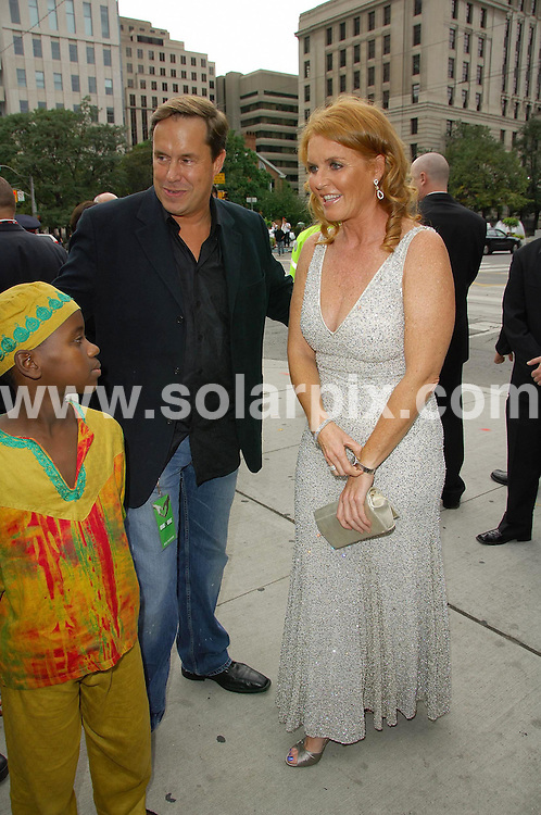 **ALL ROUND PICTURES FROM SOLARPIX.COM**.**WORLDWIDE SYNDICATION RIGHTS**.Arrivals at the  at the Benefit Gala for the ONEXONE event at the four seasons center for the performing arts , in Toronto Canada..This pic:The Duchess of York.JOB REF:4675        MSR    DATE: 09.09.07.**MUST CREDIT SOLARPIX.COM OR DOUBLE FEE WILL BE CHARGED* *UNDER NO CIRCUMSTANCES IS THIS IMAGE TO BE REPRODUCED FOR ANY ONLINE EDITION WITHOUT PRIOR PERMISSION*