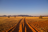 The Road to Nowhere in remote Kaokoland, Namibia