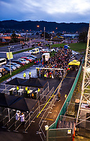 Fans queue for the 2017 DHL Lions Series rugby union match between the NZ Provincial Barbarians and British & Irish Lions at Toll Stadium in Whangarei, New Zealand on Saturday, 3 June 2017. Photo: Dave Lintott / lintottphoto.co.nz