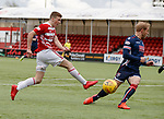 28.04.18 Hamilton v Ross County: Lewis ferguson has his shot stopped by Andrew Davies