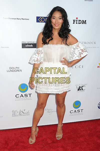 21 May 2015 - Los Angeles, California - Chloe Flower. 17th Annual CAST From Slavery to Freedom Gala held at The Skirball Center.  <br /> CAP/ADM/BP<br /> &copy;Byron Purvis/AdMedia/Capital Pictures