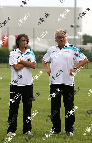 2010-07-21 / Seizoen 2010-2011 / Voetbal / K. Rupel Boom / Luc Vinck en Jan Rohart..Foto: mpics