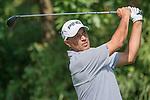 Arjun Atwal of India tees off during the 58th UBS Hong Kong Golf Open as part of the European Tour on 09 December 2016, at the Hong Kong Golf Club, Fanling, Hong Kong, China. Photo by Marcio Rodrigo Machado / Power Sport Images