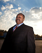 November 04, 2009. Durham, North Carolina.. David Harris is the incoming chair of the Durham Police Department Citizen Review Board.