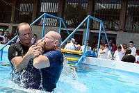 Roma, 15 Luglio 2017<br /> Battesimo<br /> Congresso dei Testimoni di Geova con Battesimi presso il PalaLottomatica