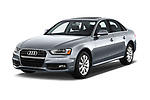 2015-2016 Audi A4 Premium 4 Door Sedan angular front stock photos of front three quarter view