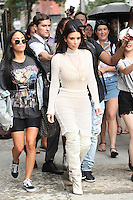 NEW YORK, NY - September 7: Kim Kardashian seen on September 7, 2016 in New York City. Credit: DC/Media Punch