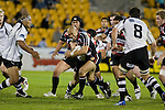 Tanner Vili tries to break through the Bay defenders. Air New Zealand Cup rugby game between Counties Manukau Steelers & Hawkes Bay, played at Mt Smart Stadium on the 23rd of August 2007. Hawkes Bay won 38 - 14.