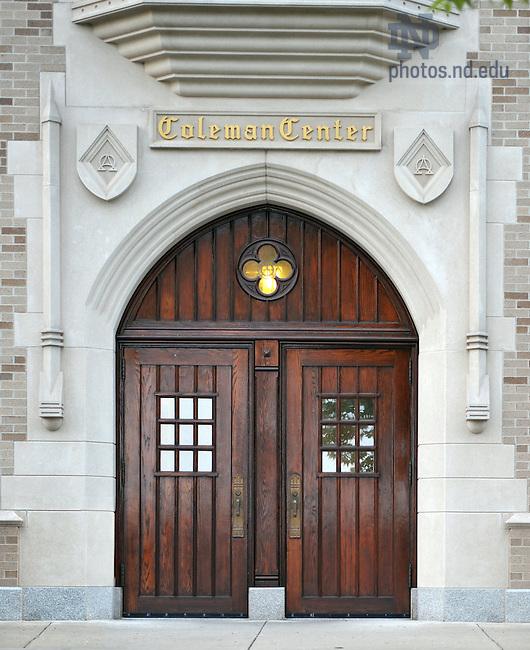 June 13, 2011; Coleman-Morse South Door..Photo by Matt Cashore/University of Notre Dame