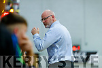 Garveys Tralee Warriors coach Pat Price v  GS Swords Thunder at the Tralee Sports Complex on Saturday night.