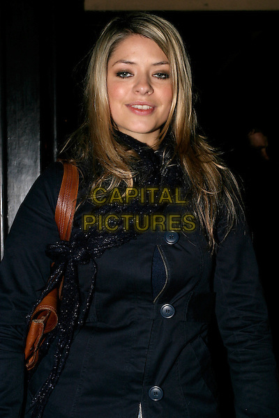 HOLLY WILLOUGHBY.Leaving Chicago: The Musical, Adelphi Theatre, London, UK..November 21st, 2005.Ref: AH.half length.www.capitalpictures.com.sales@capitalpictures.com.© Capital Pictures.