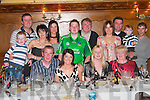 Katherina Gavin seated second from left celebrated her 34th birthday with her family in Leen's Hotel Abbeyfeale on Saturday night ..   Copyright Kerry's Eye 2008