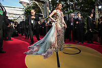 Barbara Meier arrives at the 75th Annual Golden Globe Awards at the Beverly Hilton in Beverly Hills, CA on Sunday, January 7, 2018.<br /> *Editorial Use Only*<br /> CAP/PLF/HFPA<br /> &copy;HFPA/Capital Pictures