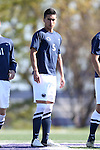 21 October 2012: Penn State's Jacob Barron. The Northwestern University Wildcats played the Penn State University Nittany Lions at Lakeside Field in Evanston, Illinois in a 2012 NCAA Division I Men's Soccer game. Penn State won the game 1-0 in golden goal overtime.