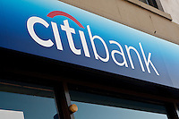 A Citibank branch is pictured in New York City, NY Monday August 1, 2011. Citibank, a major international bank, is the consumer banking arm of financial services giant Citigroup.