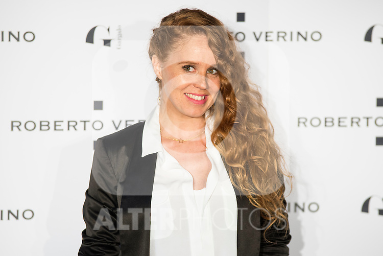 "Maria Castro during the presentation of the new Spring-Summer collection ""Un Balcon al Mar"" of Roberto Verino at Platea in Madrid. March 16, 2016. (ALTERPHOTOS/Borja B.Hojas)"