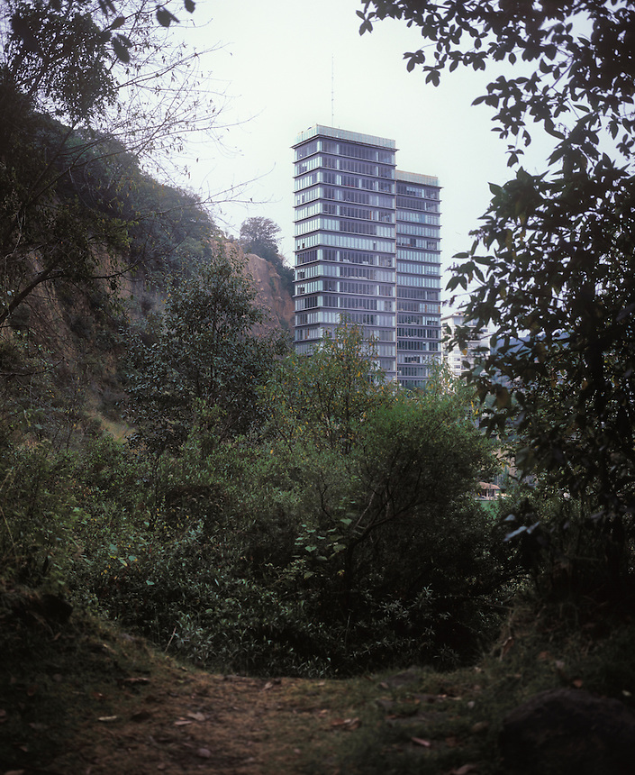 Bosques de Santa Fe one of Mexico City's most exclusive residential areas.  Mexico City