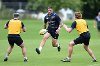 Matt Banahan of Bath Rugby in action. Bath Rugby pre-season training session on July 28, 2017 at Farleigh House in Bath, England. Photo by: Patrick Khachfe / Onside Images