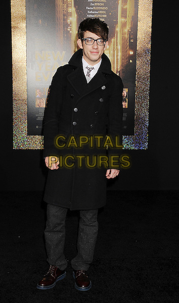 "Kevin McHale.The World Premiere of ""New Year's Eve' held at The Grauman's Chinese Theatre in Hollywood, California, USA..December 5th, 2011.full length glasses black coat.CAP/ROT/TM.©Tony Michaels/Roth Stock/Capital Pictures"