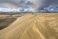 The great sand dunes in the Kobuk Valley National Park, Arctic, Alaska.