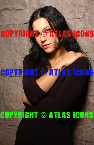 Lacuna Coil; Cristina Scabbia; Studio Portrait Session, In New York City,<br />