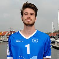 GRONINGEN - Volleybal, presentatie Abiant Lycurgus, seizoen 2017-2018, 27-09-2017, Lycurgus speler Sam Gortzak