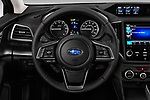 Car pictures of steering wheel view of a 2018 Subaru Crosstrek Limited CVT 5 Door SUV