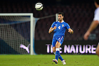 Davide Astori Italia <br /> Napoli 15-10-2013 Stadio San Paolo <br /> Football Calcio Fifa World Cup 2014 Qualifiers <br /> Europe Group B <br /> Italia - Armenia <br /> Italy - Armenia <br /> Foto Andrea Staccioli Insidefoto