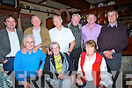 DANCE: Dancing the night away at the celebrations of the 50thn anniversary of Bouleenshere NS at the Whites Sands Hotel, Ballyheigue on Saturday, Front l-r: Mike and Mary Stack and Mary Guerin. Back l-r: Tommy O'Mahony, PJ O'Regan, John O'Regan, Gerald o'Neill, Paul Dineen and John Francis Guerin. (all Ballyheigue0.