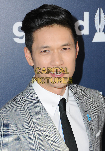 01 April 2017 - Beverly Hills, California - Harry Shum, Jr..  28th Annual GLAAD Media Awards held at The Beverly Hilton Hotel in Beverly Hills.  <br /> CAP/ADM/BT<br /> &copy;BT/ADM/Capital Pictures