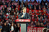 Ed Miliband <br /> Leader of the Labour Party <br /> Campaign Event at The Royal Horticultural Halls, 80 Vincent Square, London, SW1P 2PE<br /> 2nd May 2015 <br /> <br /> Ed Miliband MP <br /> Labour Leader <br /> General Election Campaign 2015 <br /> <br /> <br /> <br /> Photograph by Elliott Franks <br /> Image licensed to Elliott Franks Photography Services