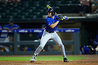 Chris Proctor (23) of the Duke Blue Devils at bat against the Clemson Tigers in Game Three of the 2017 ACC Baseball Championship at Louisville Slugger Field on May 23, 2017 in Louisville, Kentucky. The Blue Devils defeated the Tigers 6-3. (Brian Westerholt/Four Seam Images)