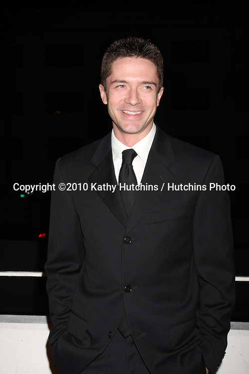 Topher Grace.arriving at the 3rd Annual Art of Elysium Gala.Rooftop of Parking Garage across from Beverly Hilton Hotel.Beverly Hills, CA.January 16, 2010.©2010 Kathy Hutchins / Hutchins Photo....